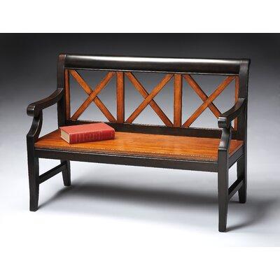 Butler Transitional Cherry Veneer Bench