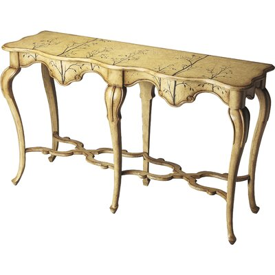 Lampert Console Table Color: Winter Forest
