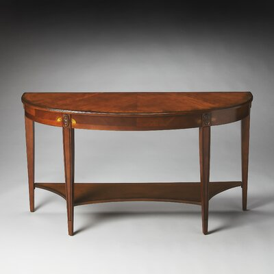 Evelyn Demilune Console Table