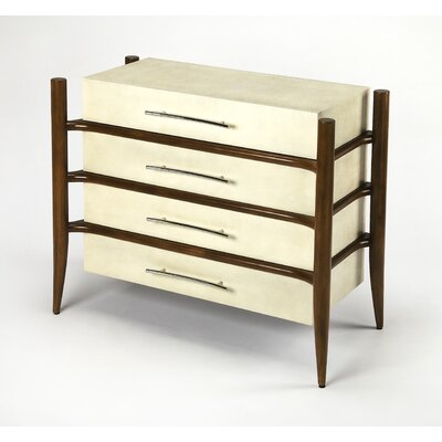 Carini 4 Drawer Accent Chest