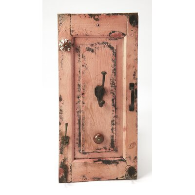Wall Mounted Coat Rack Color: Pink