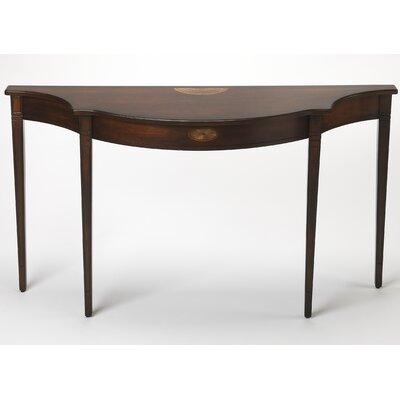 """Amedori Demilune Console Table Size: 32"""" H x 54"""" W x 15"""" D"""
