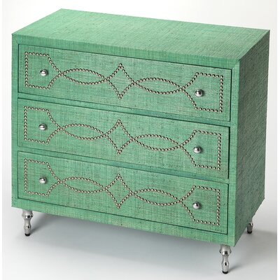 Eglantina 3 Drawer Accent Chest
