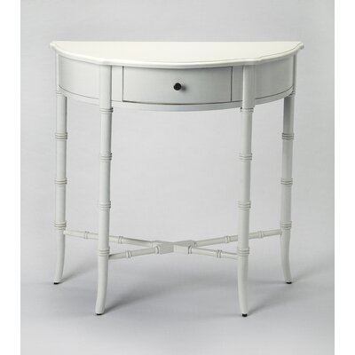 Clifton Console Table Color: White