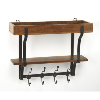 Dundermot Industrial Chic Wall Rack