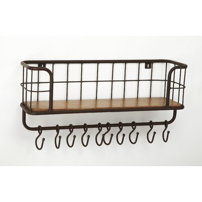 Dundonald Industrial Chic Wall Mounted Coat Rack