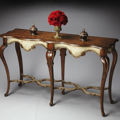 Lampert Console Table Color: Distressed Appaloosa