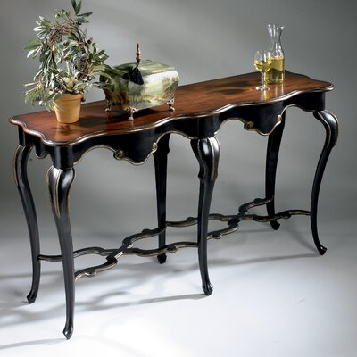 Lampert Console Table Color: Cafe Noir