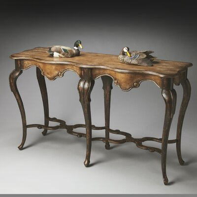Lampert Console Table Color: Old Spanish Mission
