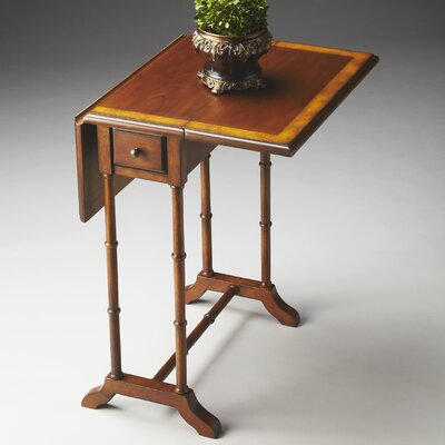 Evelyn Console Table Color: Olive Ash Burl