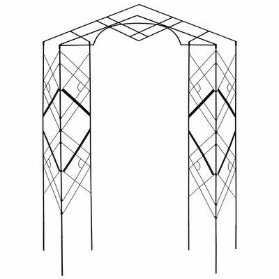 Athena Iron Folding Trellis
