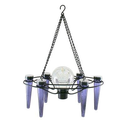 Demi 6-Light Novelty Chandelier Bulb Color: Light Blue