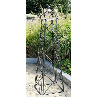 Lattice Steel Obelisk Trellis