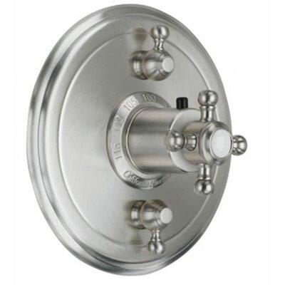 California Faucets Venice StyleTherm Dual Volume Controls Shower Faucet Trim