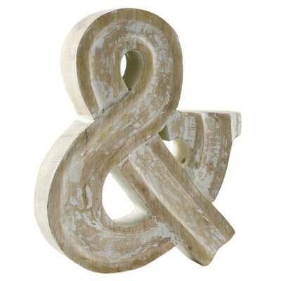 Fetco Home Decor Huckle Monogram Ampersand Wall Décor