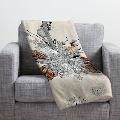 DENY Designs Iveta Abolina Floral 2 Throw Blanket