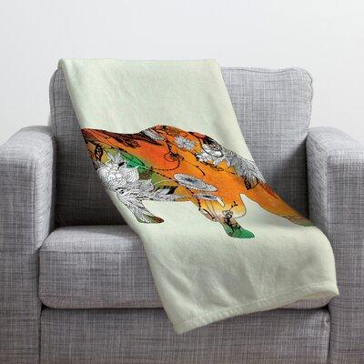 DENY Designs Iveta Abolina Rhino Throw Blanket