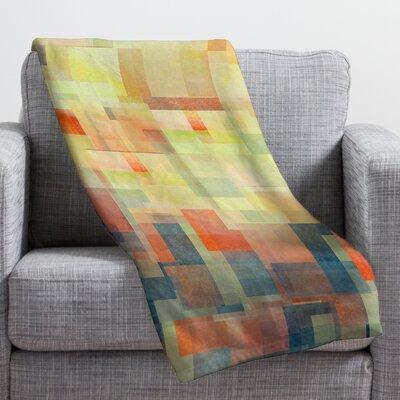 DENY Designs Jacqueline Maldonado Cubism Dream Throw Blanket