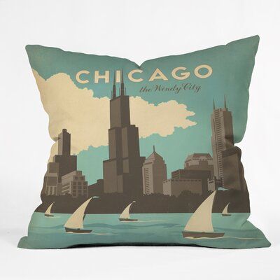 DENY Designs Anderson Design Group Chicago Throw Pillow