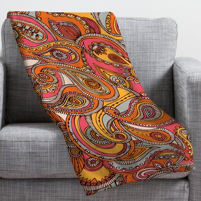 DENY Designs Valentina Ramos Spring Paisley Throw Blanket