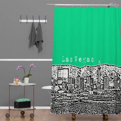 DENY Designs Bird Ave Las Vegas Shower Curtain