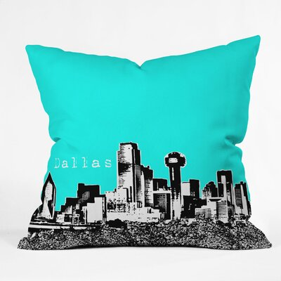 DENY Designs Bird Ave Dallas Indoor/Outdoor Throw Pillow