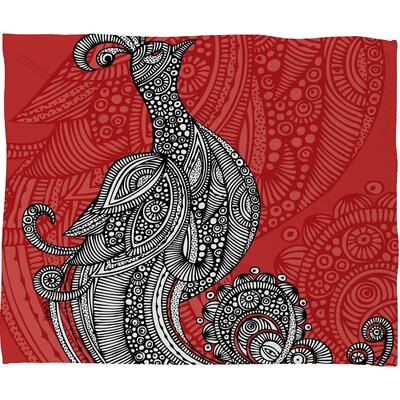 DENY Designs Valentina Ramos The Bird Throw Blanket