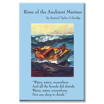 Buyenlarge Rime of the Ancient Mariner Vintage Advertisement on Wrapped Canvas