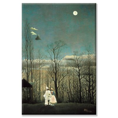 Buyenlarge Carnival Evening by Henri Rousseau Painting Print on Wrapped Canvas