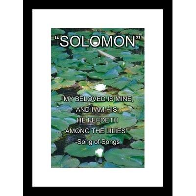 Buyenlarge Solomon - Song of Songs Framed Textual Art