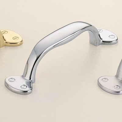 "Classic & Modern 2 1/2"" Center Arch Pull Finish: Polished Chrome Plated"