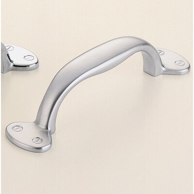 "Classic & Modern 2 1/2"" Center Arch Pull Finish: Satin Chrome Plated"