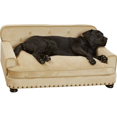 The Enchanted Home Faux Suede Library Dog Sofa Review