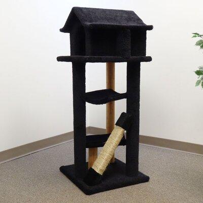 "New Cat Condos 46"" Premier Large Cat Pagoda Tree"