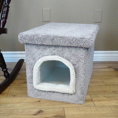 Premier Litter Box Enclosure Color: Gray, Size: 20'' H x 20'' W x 33'' D