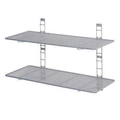 2 Tier Heavy Duty Floating Wall-Mounted Storage Shelf