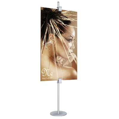 Visual Merchandising Clamp Stand Color: Matte Black