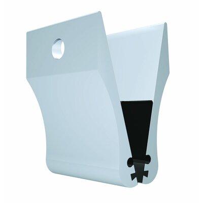 Visual Merchandising Clamp Color: Satin Silver