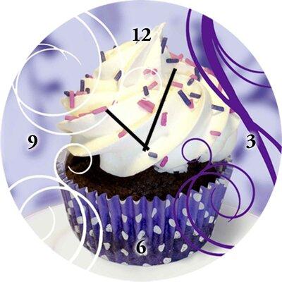 Artland Analoge Wanduhr Cupcake 35 cm