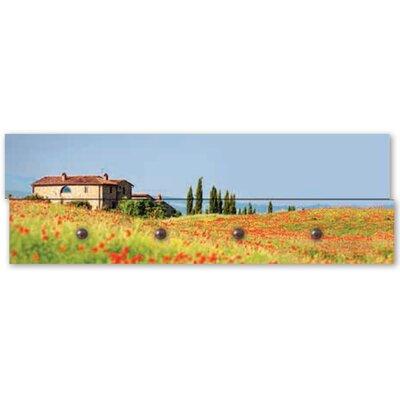 Artland Garderobenpaneele Toskanische Mohnblumen