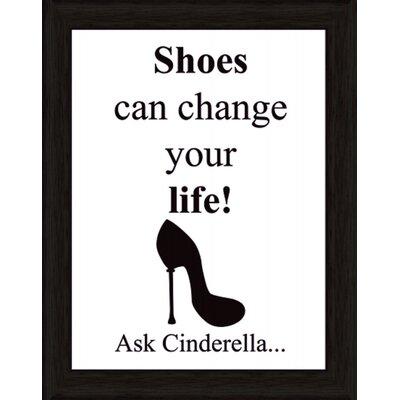 Artland Wandbild Shoes can change your life von Jule - 47,2 x 37,2 cm