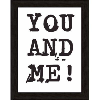 Artland Wandbild You and Me von Jule - 47,2 x 37,2 cm