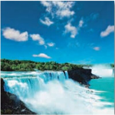 Artland Wandbild Niagara von Andrushko, Galyna