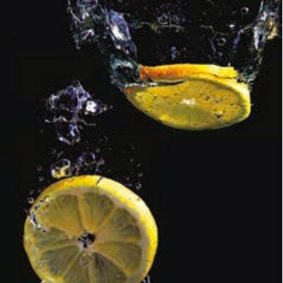 Artland Wandbild Zitronen von Rauh, Stephan - 60 x 60 cm