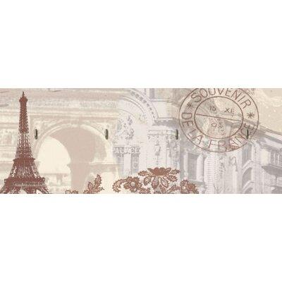 Artland Schlüsselbrett Paris Collage
