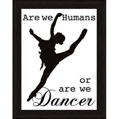 Artland Wandbild We are Humans or are we dancer von Jule - 47,2 x 37,2 cm