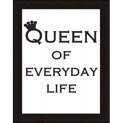 Artland Wandbild Queen of everyday life von Jule - 47,2 x 37,2 cm