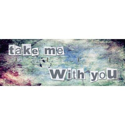 Artland Schlüsselbrett Take Me With You