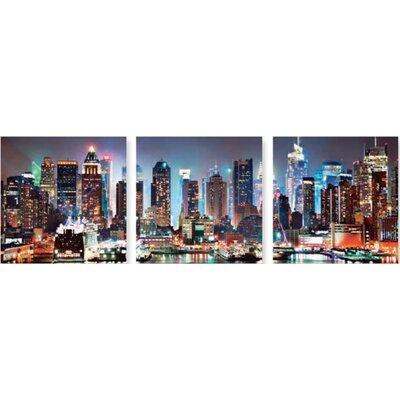 Artland 3-tlg. Glasbild-Set Fotodruck
