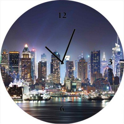 Artland Analoge Wanduhr New York City Times Square 35 cm